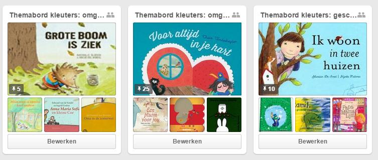 Pinterest-kinderen